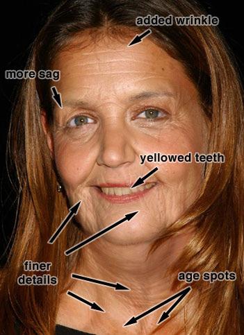 Como envejecer una Mujer en Photoshop